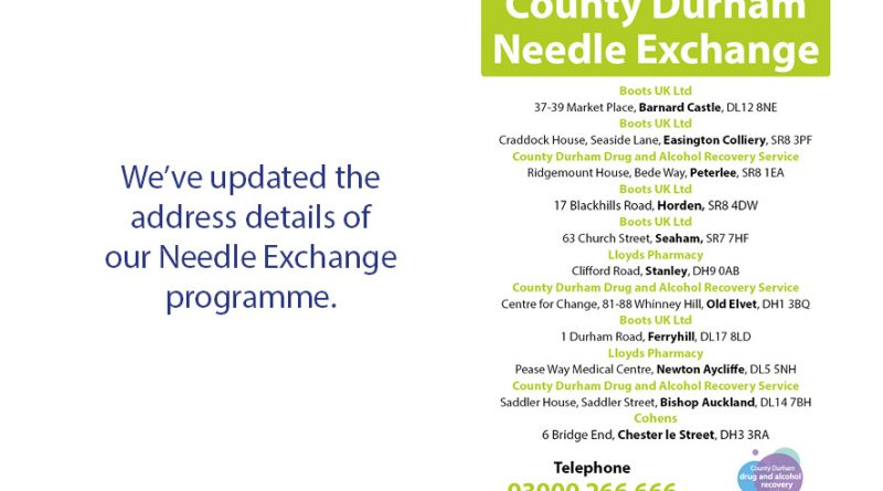 County Durham Needle Exchange